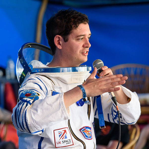 Q&A with Andrew Kuh from UK Space Agency